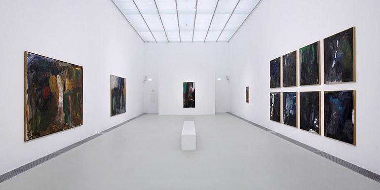 © Ausstellungsansicht Per Kirkeby, Kunsthalle Krems 2019 © Christian Redtenbacher