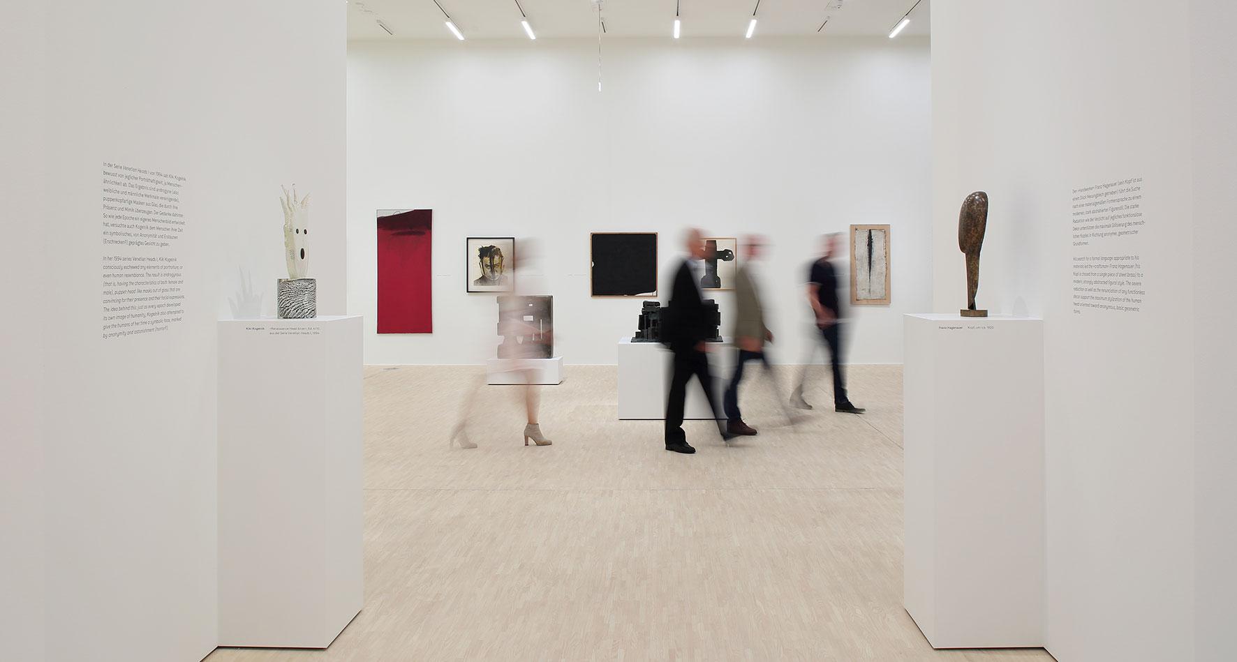 """Ausstellungsansicht """"Sammlung Ploil. Der Welt (m)eine Ordnung geben"""", Foto: Christian Redtenbacher"""