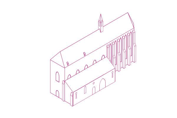 Der Schwerpunkt liegt auf raumbezogenen Projekten in der gotischen Sakralarchitektur.