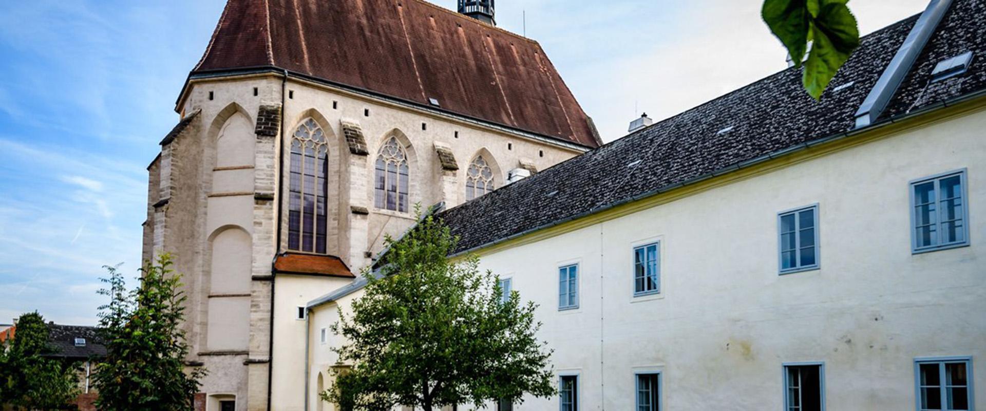 Klangraum Krems Minoritenkirche Bild
